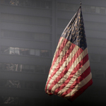 Fahne am Ground Zero, New York