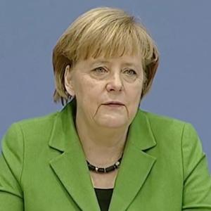 Merkel in der Bundespressekonferenz