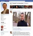 Guttenberg richtet sich mit Videobotschaft an Facebook-Fans