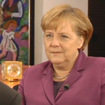 Bundeskanzlerin Angela Merkel im YouTube-Interview